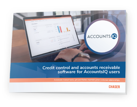 Chaser integrationsAccountsIQ-Chaser - Credit control and accounts receivable software