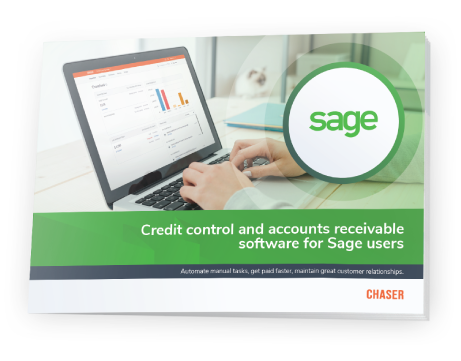 Chaser integrations-Sage-Chaser - Credit control and accounts receivable software